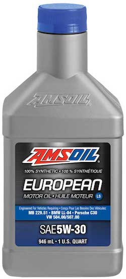 SAE 5W-30 LS Synthetic European Motor Oil