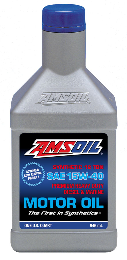 amsoil 15w 40 heavy duty diesel marine motor oil ame synthetic 15w40. Black Bedroom Furniture Sets. Home Design Ideas